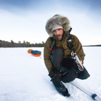 Ski for Fire: Ty Olson on 254-mile Ski Trek Across the Top of Minnesota