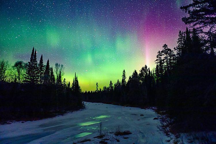 Stellar Skies & Northern Lights Illuminate The North Star State