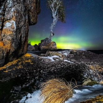 "Keefography: ""Spirit Little Cedar Tree"" Astro Photography Series and History – Lake Superior, MN"