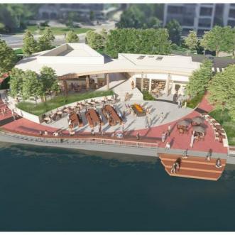 Preferred Concept for Bde Maka Ska Pavilion Site – Minneapolis, MN