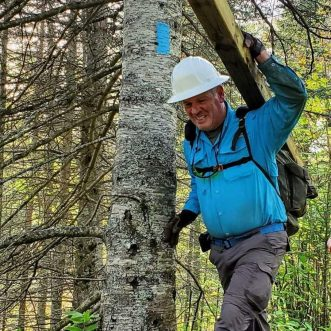 The Superior Hiking Trail Association Recognizes Michael Loscheider as 2020 Volunteer of the Year!
