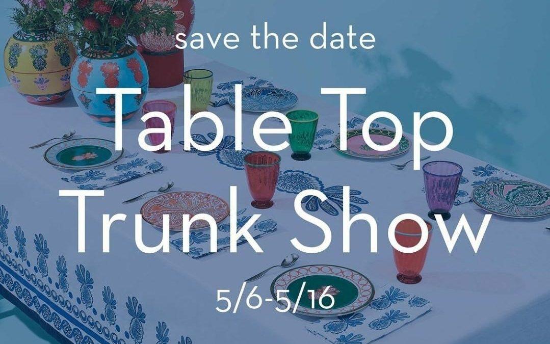 MartinPatrick 3 Table Top Trunk Show – North Loop, Minneapolis