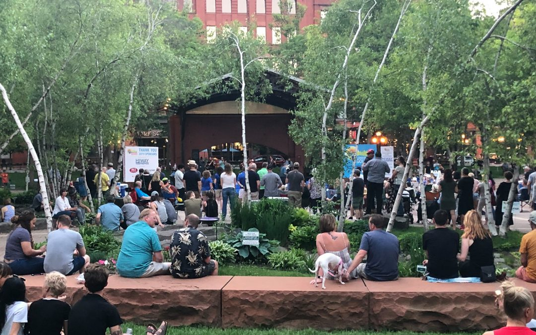 Lowertown Sounds: Summertime Music and Food Community Events – Mears Park, St. Paul