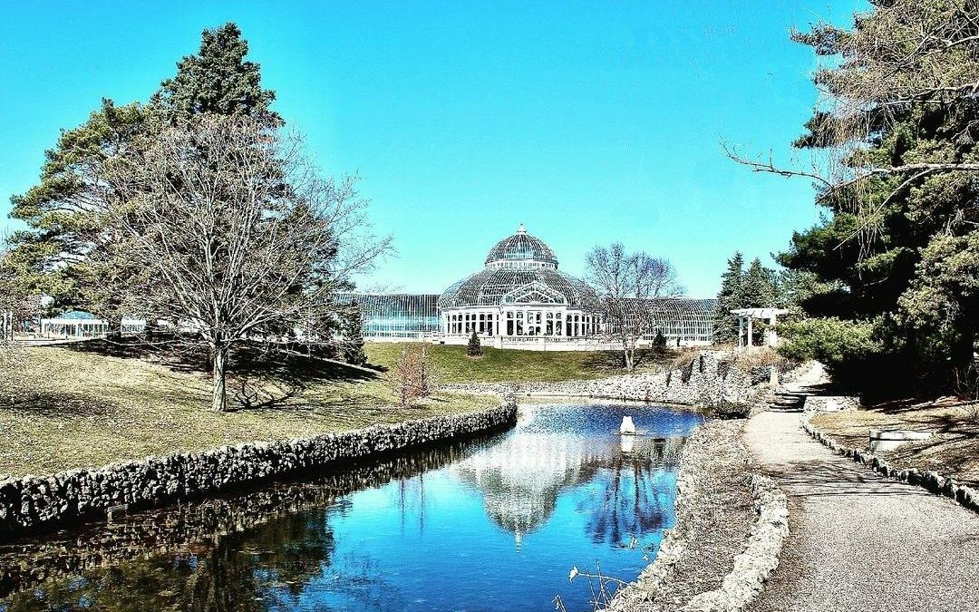 The Marjorie McNeely Conservatory was Designed by Frederick Nussbaumer in 1915 – St. Paul, MN