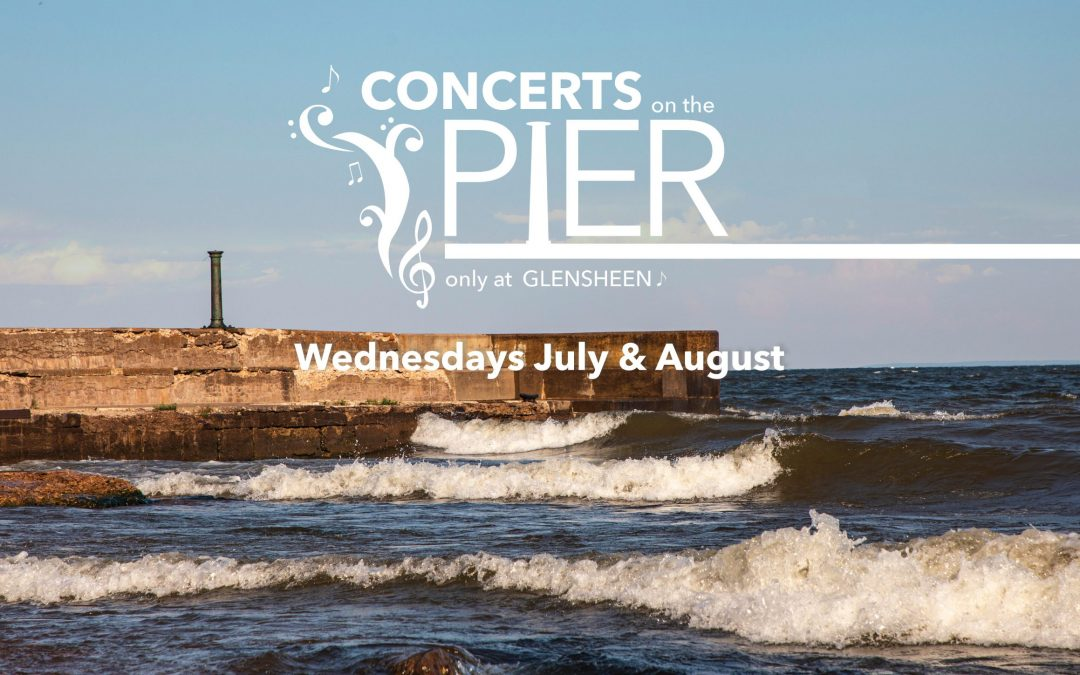 Glensheen Mansion: It's happening… Free Concerts on the Pier will be back in Full Force this Summer! 