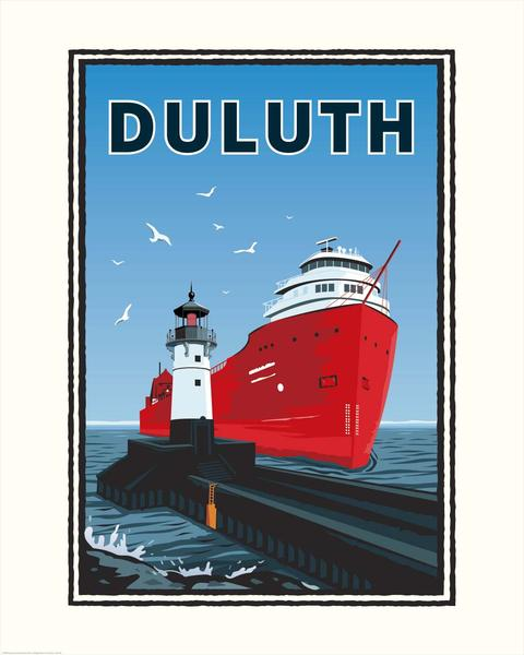 Great Lakes Company: Minnesota Landmark Prints