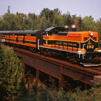 The Great Pumpkin Train: Duluth Depot – North Shore Scenic Railroad