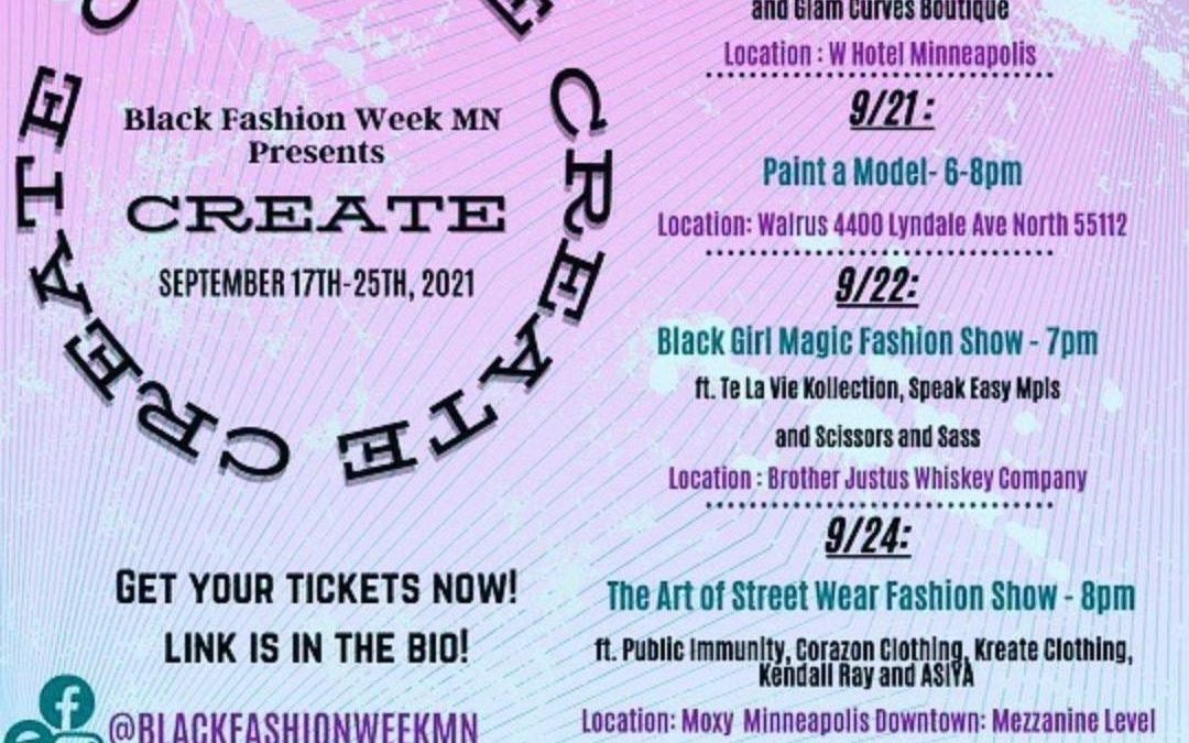 Black Fashion Week MN Season Kickoff!