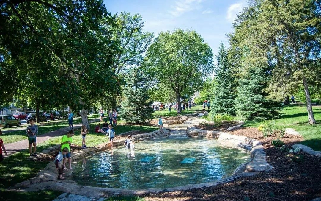 The Seven Pools at Thomas Lowry Park has been Completely Rebuilt! – Minneapolis, MN